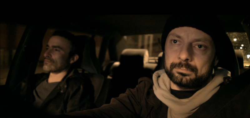 "Marco Canadea und Theo Plakoudakis in ""Taxi"""